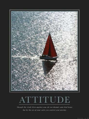 Attitude: Sailing Reproduction d'art