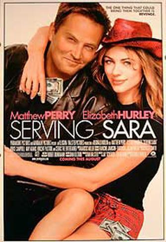 Au service de Sara Affiche double face