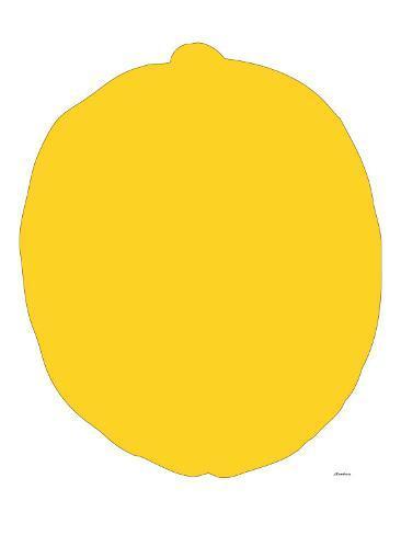 Citron Reproduction d'art