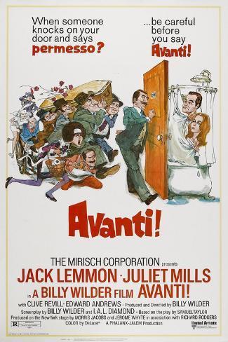 Avanti!, 1972 Reproduction procédé giclée