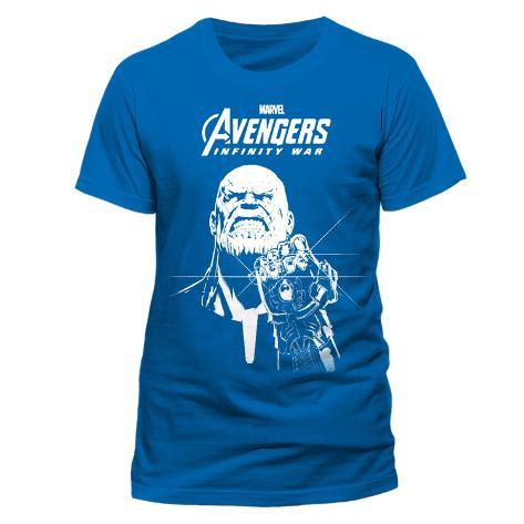 Avengers: Infinity War - Blue Thanos T-shirt