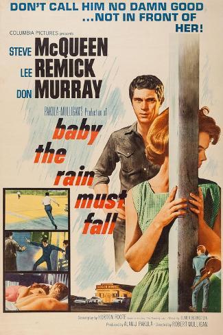 Baby, the Rain Must Fall, 1965 Reproduction procédé giclée