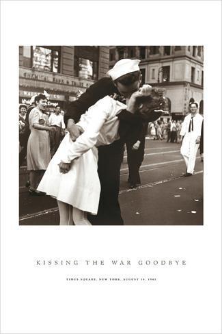 Baiser d'adieu à la guerre Poster