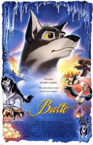 Balto - Chien-loup, héros des neiges Balto Affiche originale