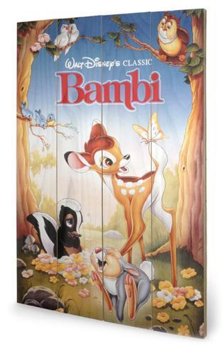 Bambi Panneau en bois
