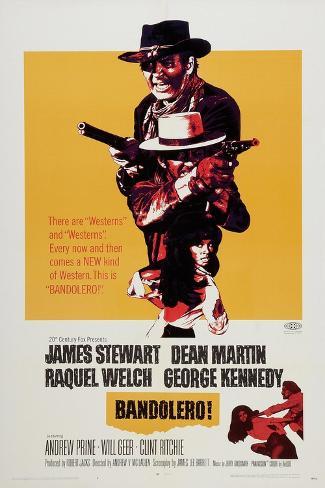 Bandolero!, 1968 Reproduction procédé giclée