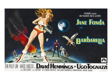 Barbarella, Jane Fonda, 1968 Photographie