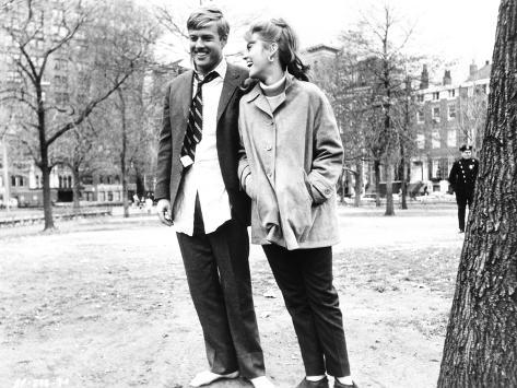 Barefoot in the Park, Robert Redford, Jane Fonda, 1967 Photographie