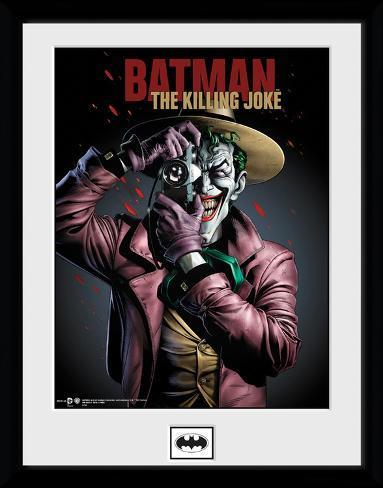 Batman - The Killing Joke Reproduction encadrée pour collectionneurs
