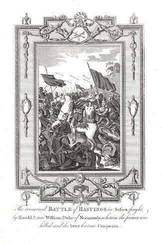 Battle of Hastings, 1066 Reproduction procédé giclée