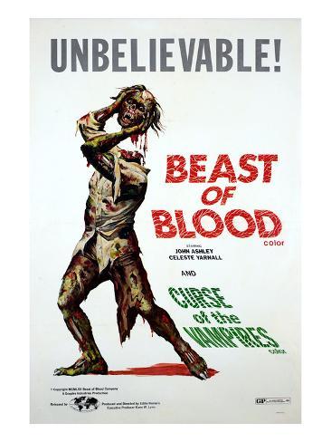 Beast of Blood, 1971, Curse of the Vampires (aka Ibulong Mo Sa Hangin), 1966 Photographie