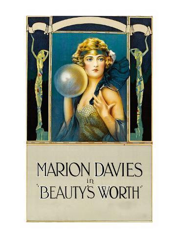 Beauty's Worth Reproduction giclée Premium