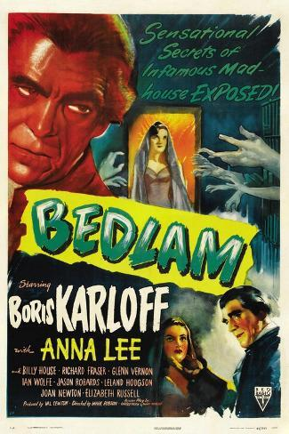 Bedlam, 1946 Reproduction procédé giclée