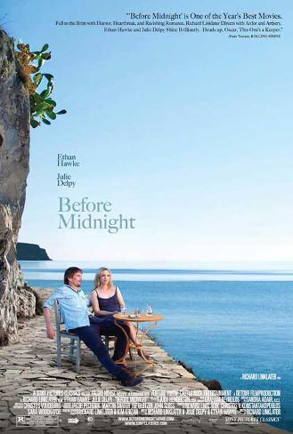 Before Midnight (Ethan Hawke, Julie Delpy) Movie Poster Affiche originale