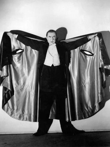 Bela Lugosi in Costume as Dracula, 1931 Reproduction photographique