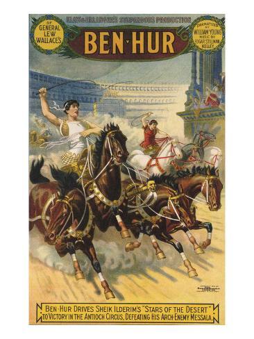 Ben-Hur, 1903, USA Reproduction procédé giclée