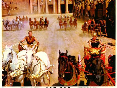 Ben-Hur, 1959 Reproduction d'art