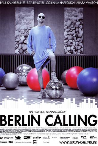 Berlin Calling, film allemand de Hannes Stöhr avec Paul Kalkbrenner, 2008 Poster