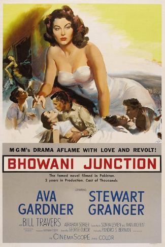 Bhowani Junction, 1956 Reproduction procédé giclée