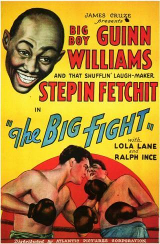 Big Fight Affiche originale