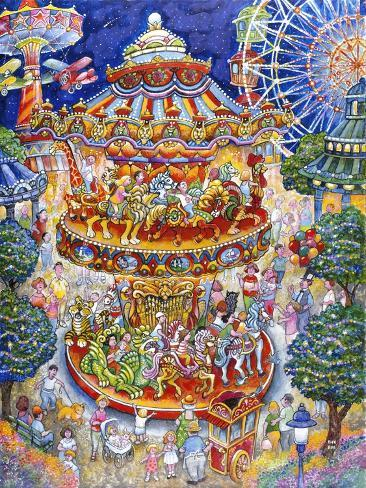 Carousel Dreams Reproduction procédé giclée