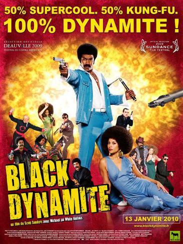 Black Dynamite - French Style Poster