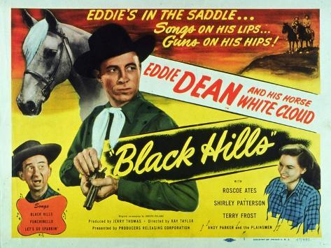 Black Hills, 1948 Reproduction d'art