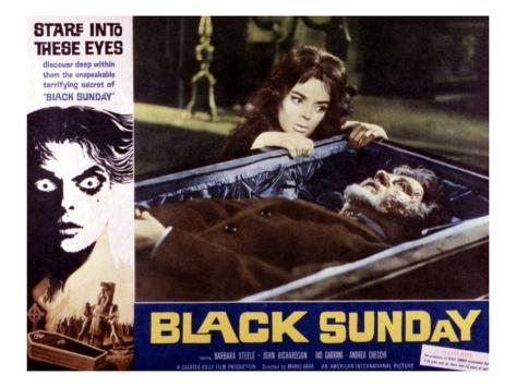 Black Sunday, Barbara Steele, 1961 Photographie