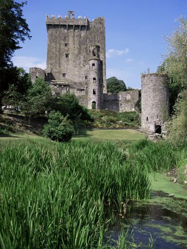 Blarney Castle, County Cork, Munster, Eire (Republic of Ireland) Reproduction photographique