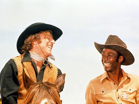 Blazing Saddles, Gene Wilder, Cleavon Little, 1974 Photographie