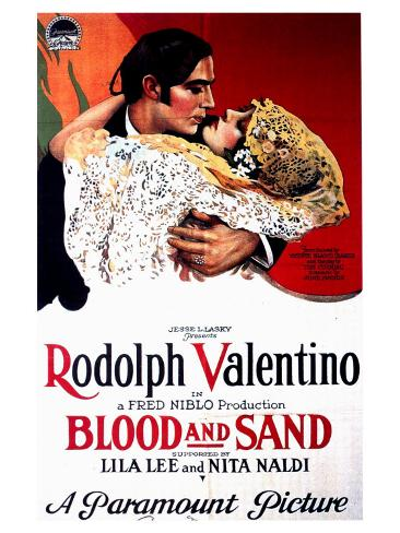 Blood and Sand, 1941 Reproduction d'art
