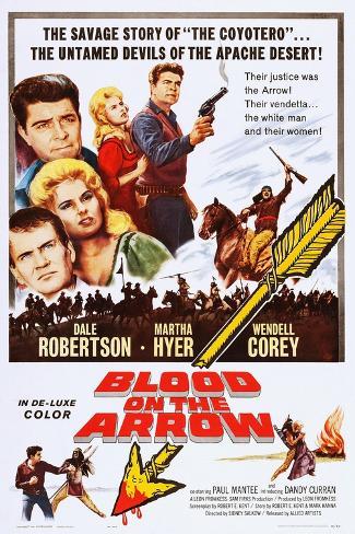 Blood on the Arrow Reproduction d'art
