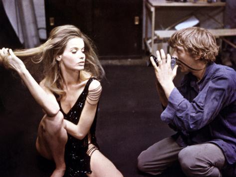 Blow-Up, Veruschka, David Hemmings, 1966 Photographie