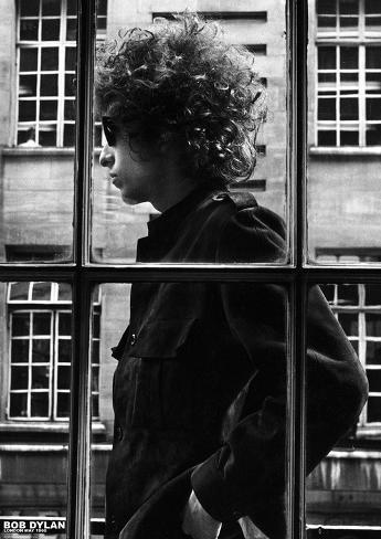 Bob Dylan- London May 1966 Poster
