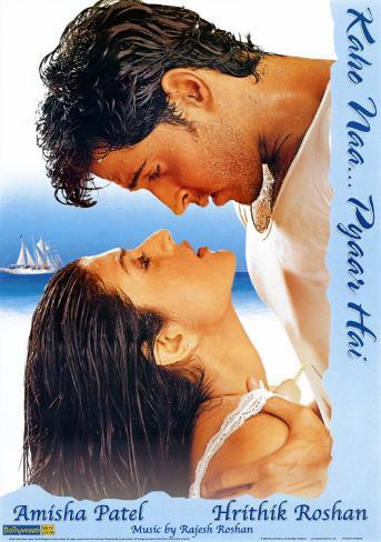 Bollywood - Kaho Naa...Pyaar Hai Poster