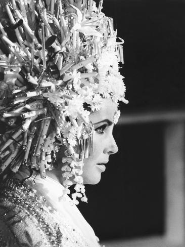 Boom!, Elizabeth Taylor, 1968 Photographie