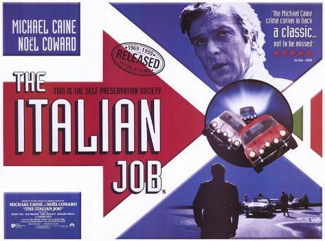Braquage à l'italienne Affiche originale
