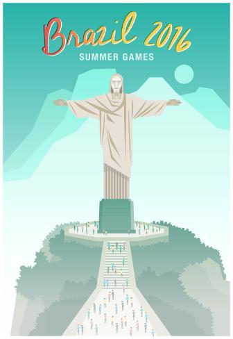 Brazil 2016 Summer Games Poster