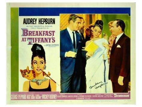 Breakfast At Tiffany's, 1961 Reproduction d'art