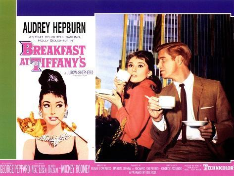 Breakfast At Tiffany's, 1961 Reproduction d'art