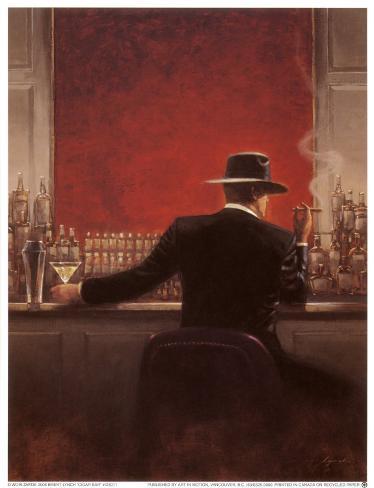 Bar à cigares Reproduction d'art