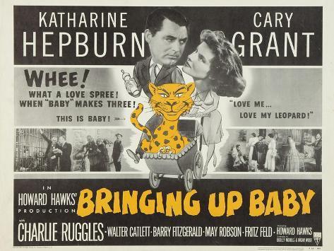 Bringing Up Baby, 1938 Reproduction procédé giclée