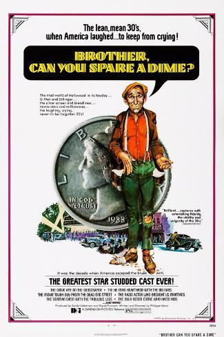 Brother, Can You Spare a Dime?, 1975 Reproduction d'art