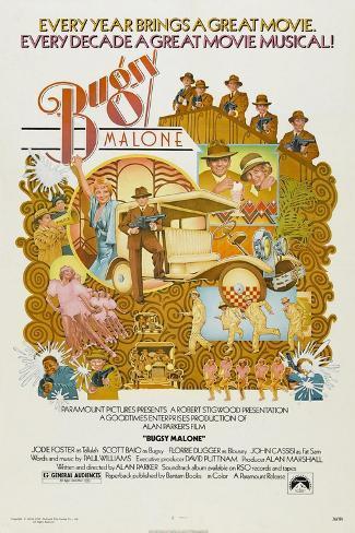 Bugsy Malone, 1976 Reproduction procédé giclée