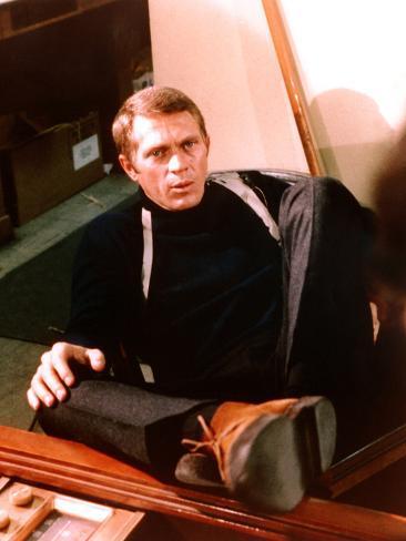 Bullitt, Steve McQueen, 1968 Photographie