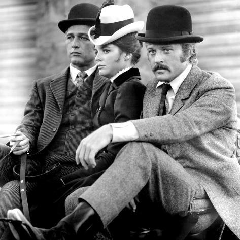 Butch Cassidy and the Sundance Kid, Paul Newman, Katharine Ross, Robert Redford, 1969 Photographie