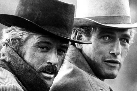 Butch Cassidy and the Sundance Kid, Robert Redford, Paul Newman, 1969 Photographie