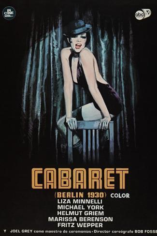 Cabaret, 1972 Reproduction procédé giclée