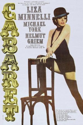 Cabaret, Italian poster, Liza Minnelli, 1972 Reproduction d'art