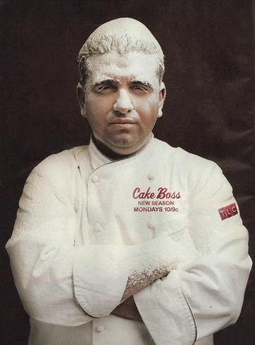Cake Boss Affiche originale